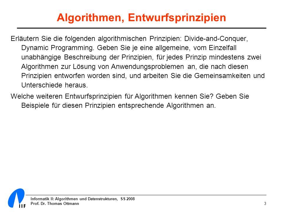 Algorithmen, Entwurfsprinzipien