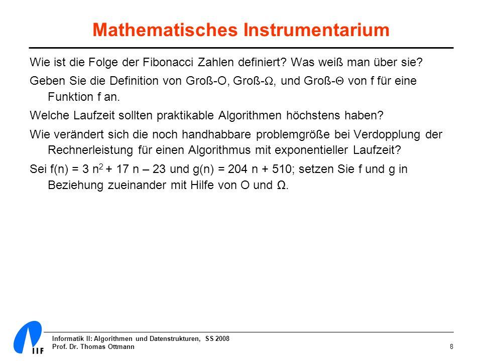 Mathematisches Instrumentarium