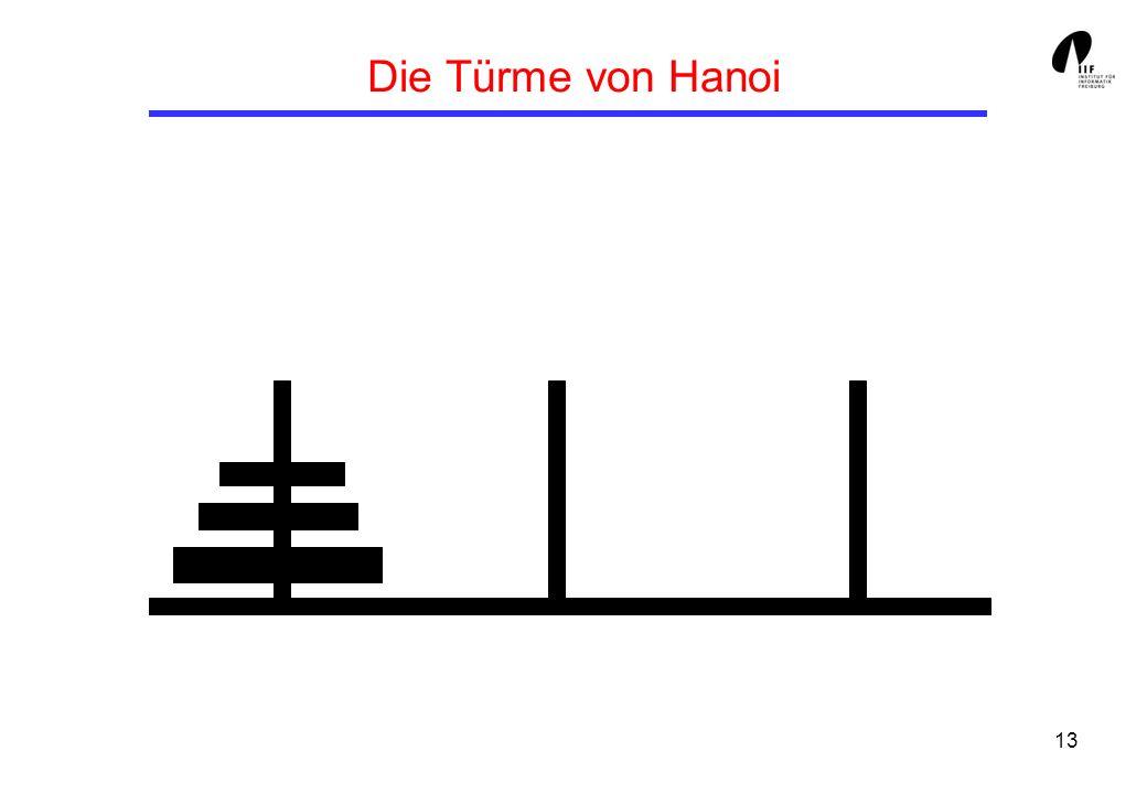 Die Türme von Hanoi