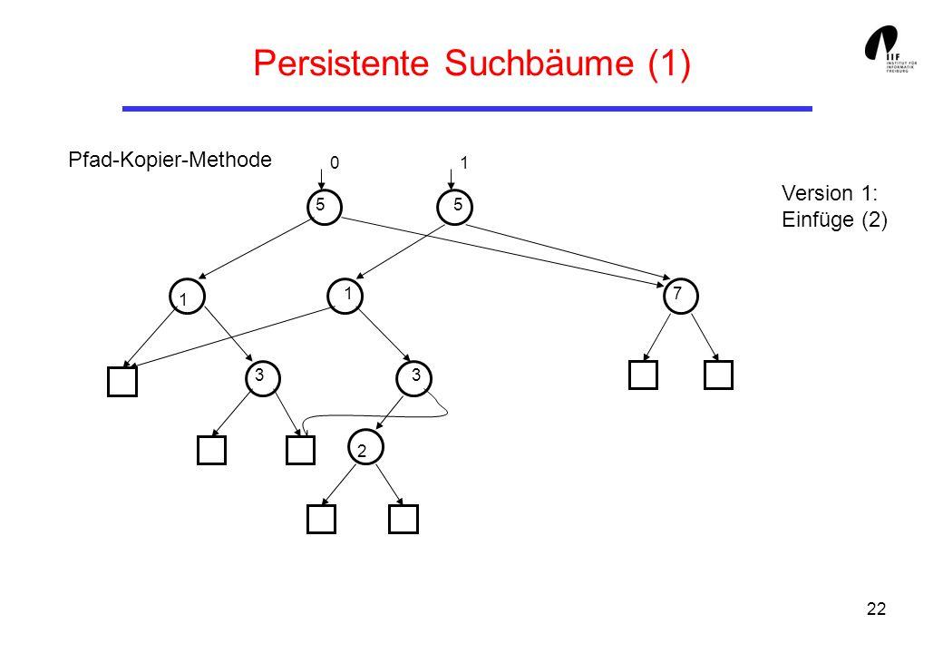 Persistente Suchbäume (1)