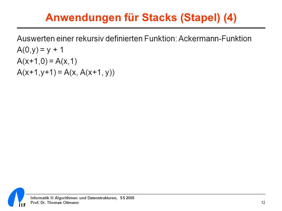 Anwendungen für Stacks (Stapel) (4)