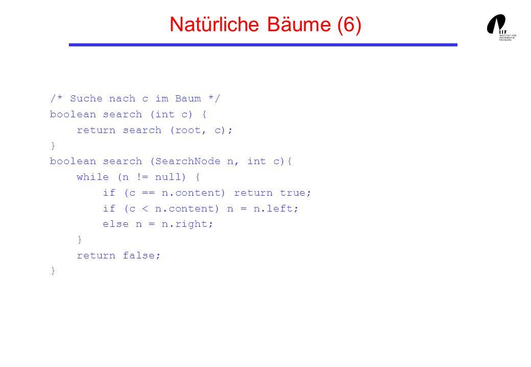 Natürliche Bäume (6)