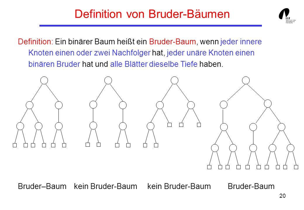 Definition von Bruder-Bäumen
