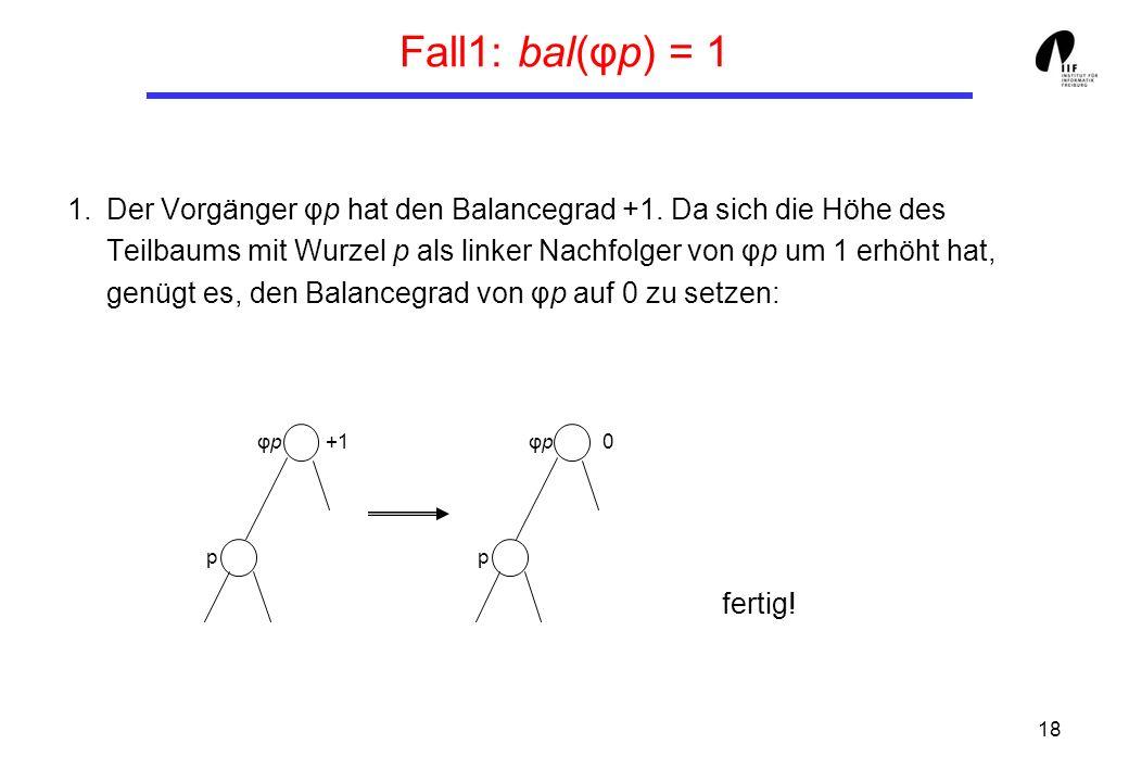Fall1: bal(φp) = 1