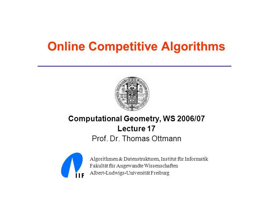 Online Competitive Algorithms
