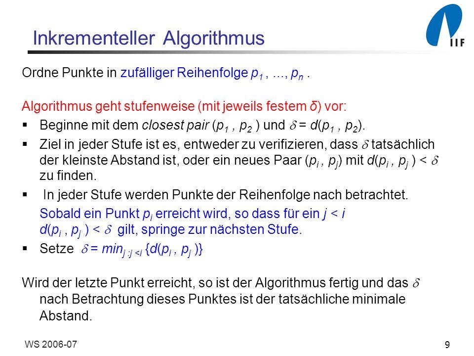 Inkrementeller Algorithmus