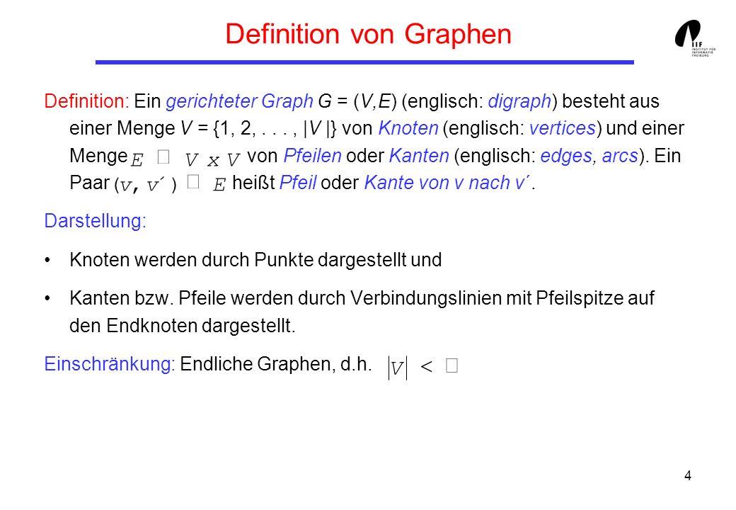 Definition von Graphen