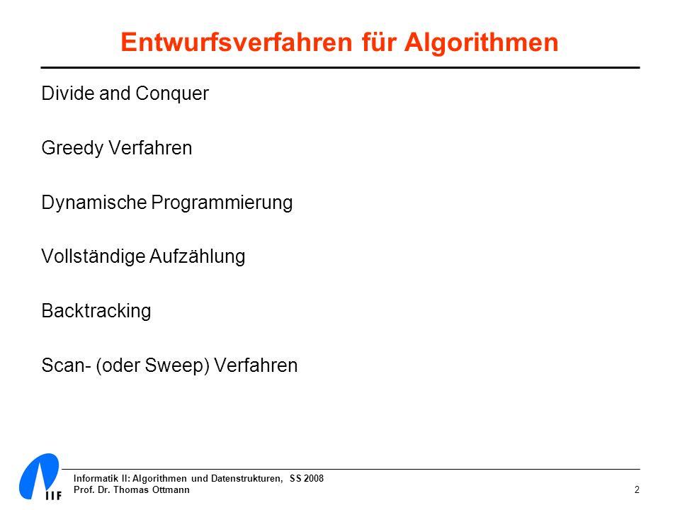 Entwurfsverfahren für Algorithmen