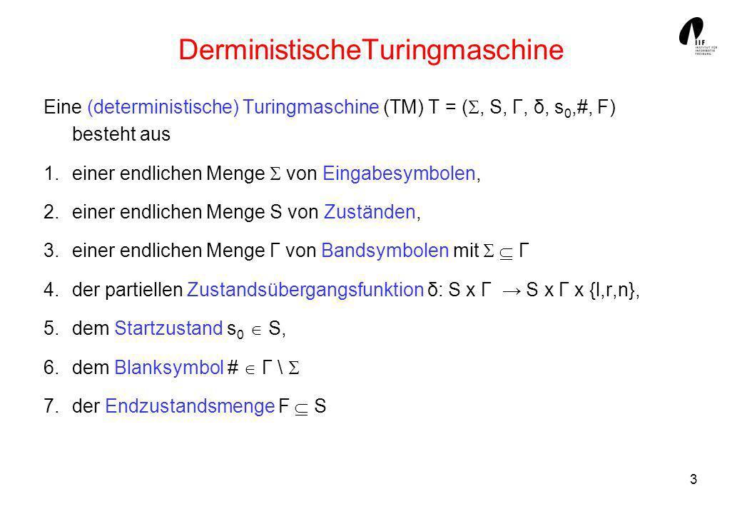 DerministischeTuringmaschine