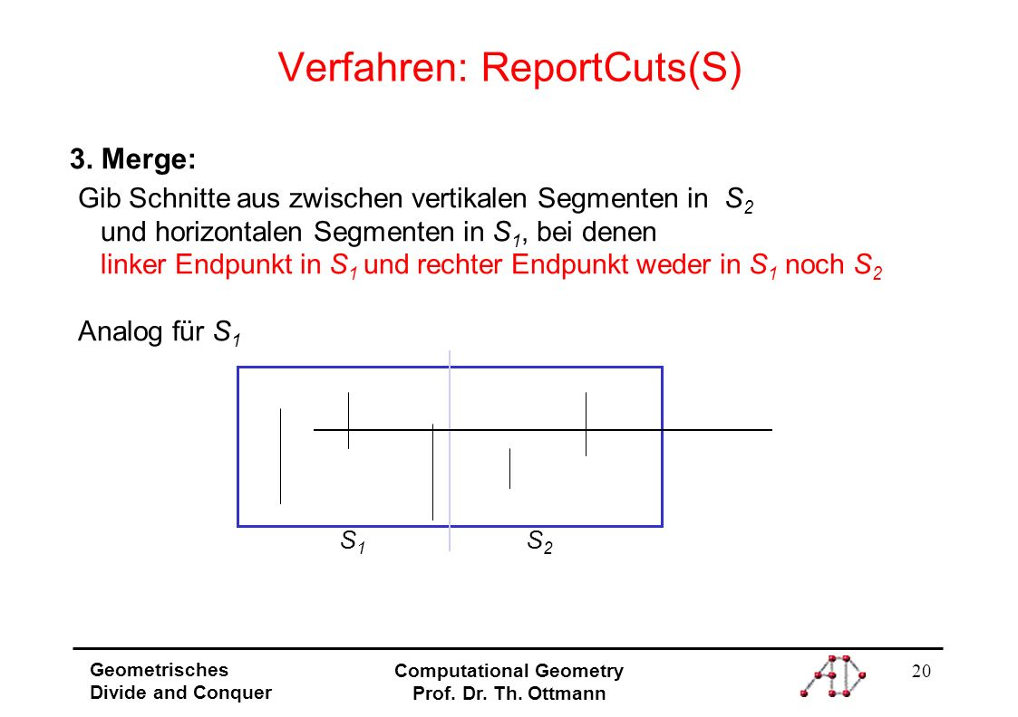 Verfahren: ReportCuts(S)