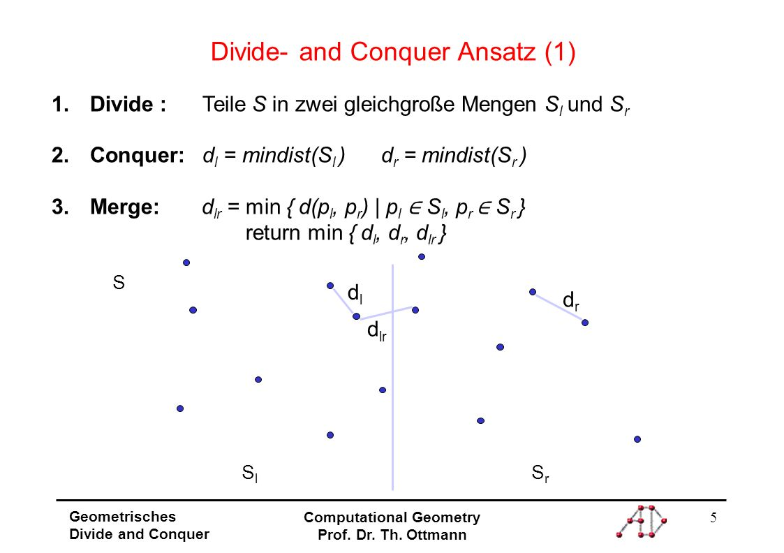 Divide- and Conquer Ansatz (1)