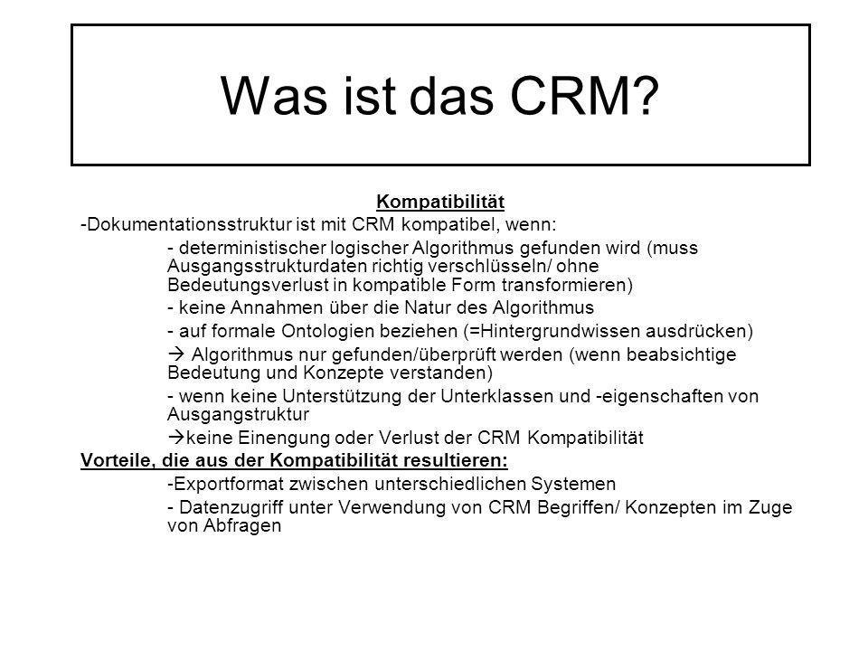Was ist das CRM Kompatibilität