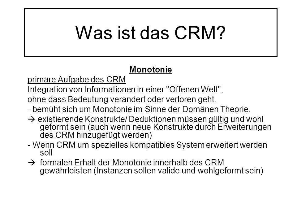 Was ist das CRM Monotonie primäre Aufgabe des CRM