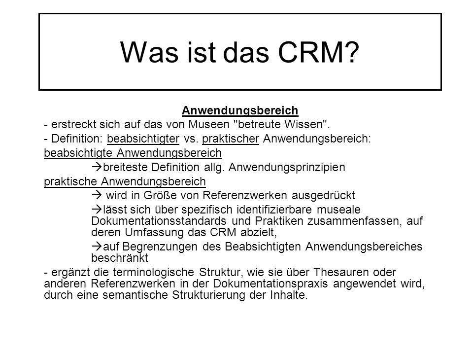 Was ist das CRM Anwendungsbereich