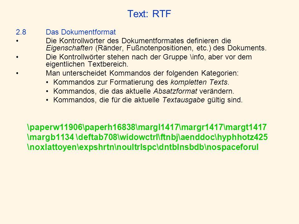 Text: RTF \margb1134 \deftab708\widowctrl\ftnbj\aenddoc\hyphhotz425