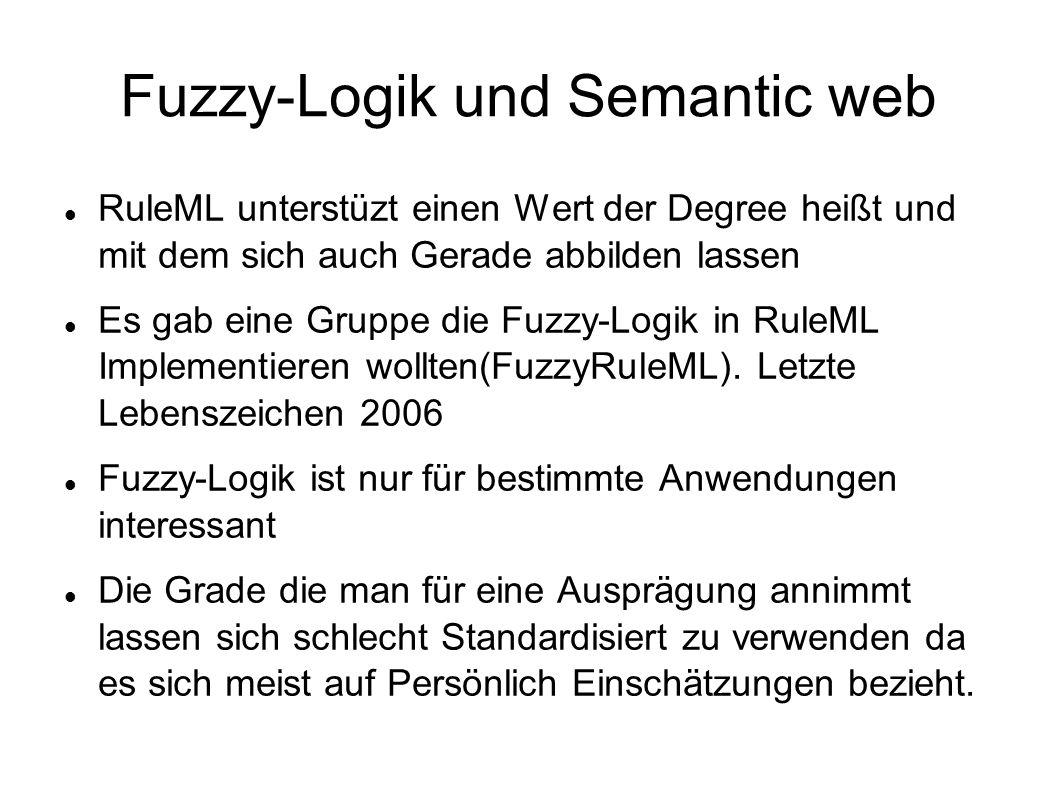 Fuzzy-Logik und Semantic web