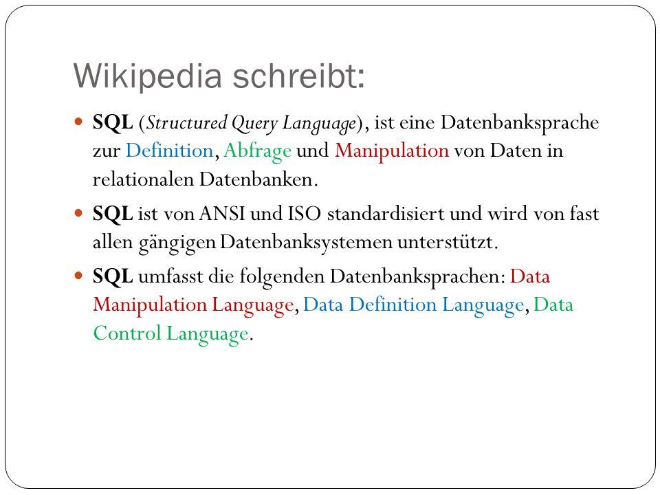 Wikipedia schreibt: