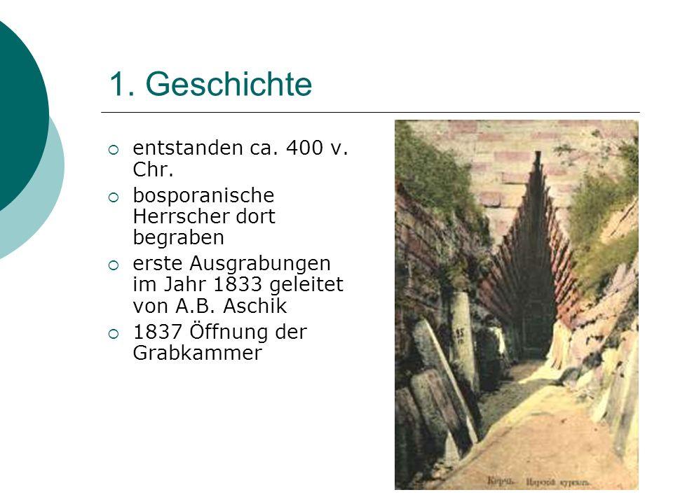 1. Geschichte entstanden ca. 400 v. Chr.