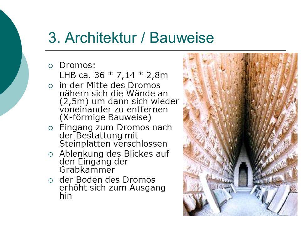 3. Architektur / Bauweise