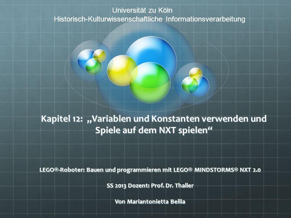 Universität zu Köln Historisch-Kulturwissenschaftliche Informationsverarbeitung