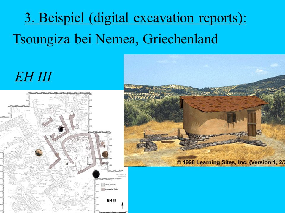 3. Beispiel (digital excavation reports):