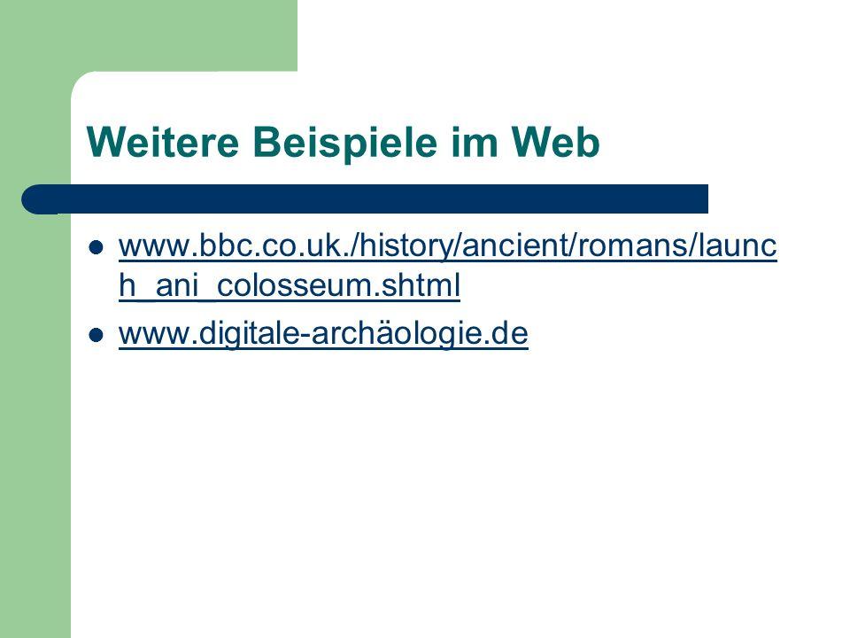 Weitere Beispiele im Web