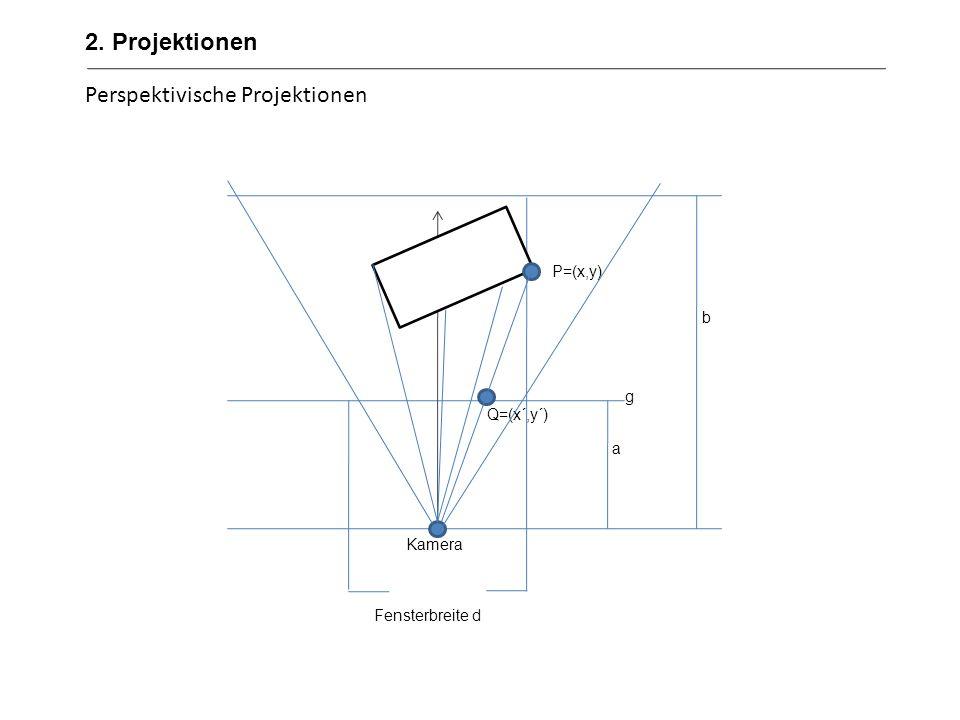 Perspektivische Projektionen