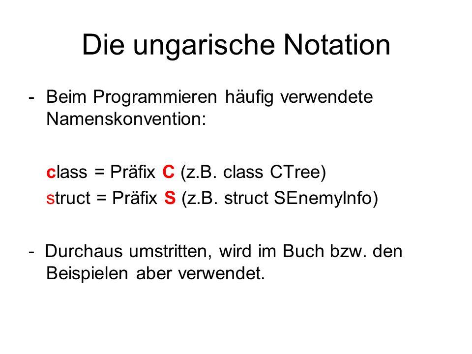 Die ungarische Notation