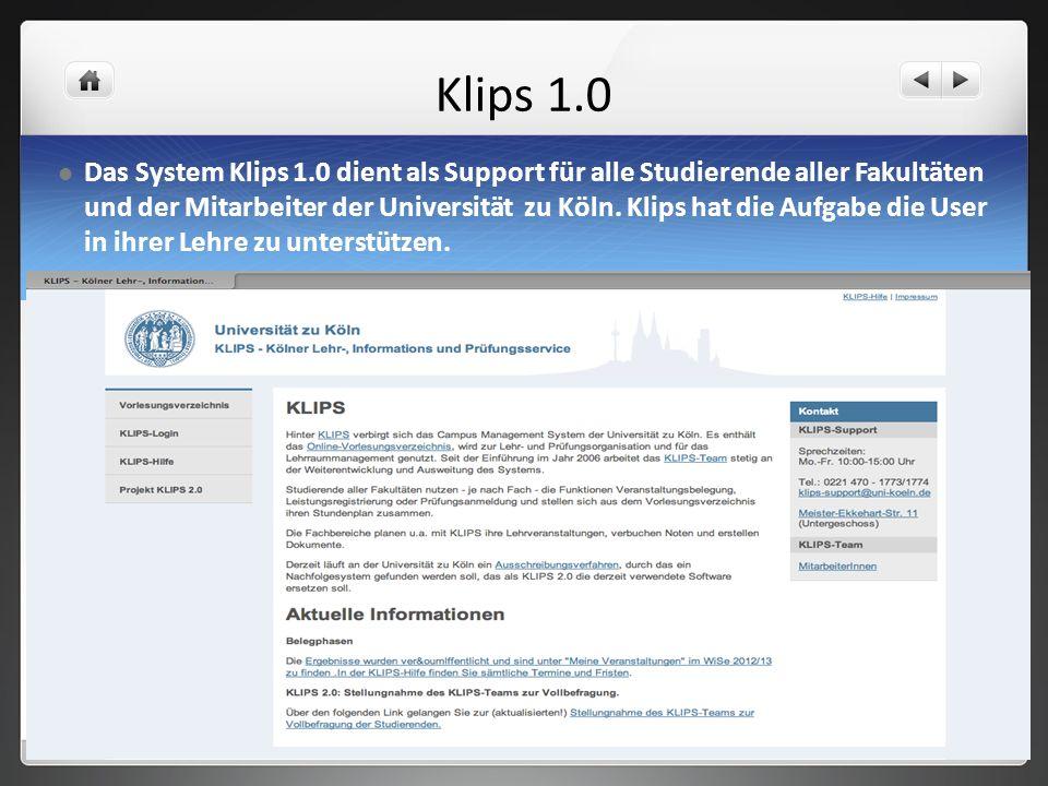 Klips 1.0