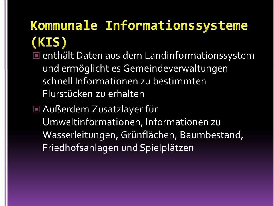Kommunale Informationssysteme (KIS)
