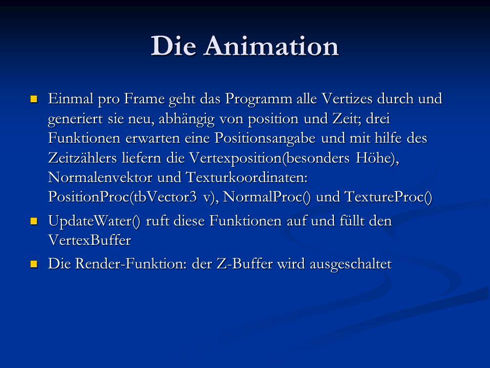 Die Animation