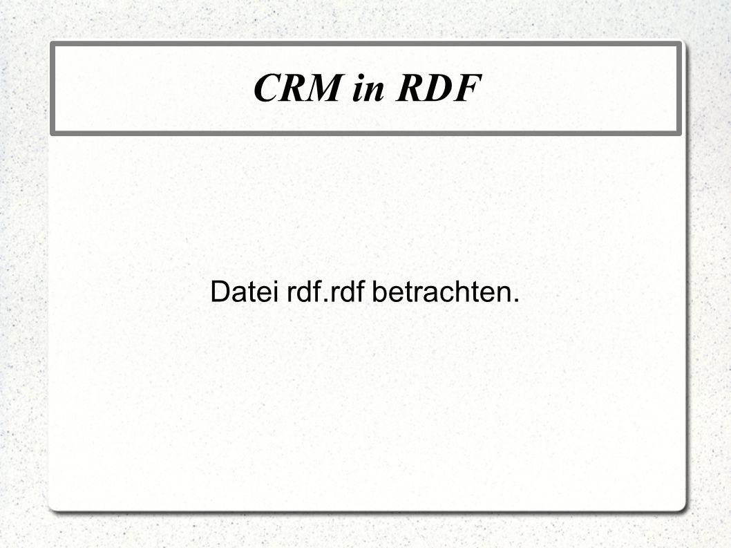 Datei rdf.rdf betrachten.
