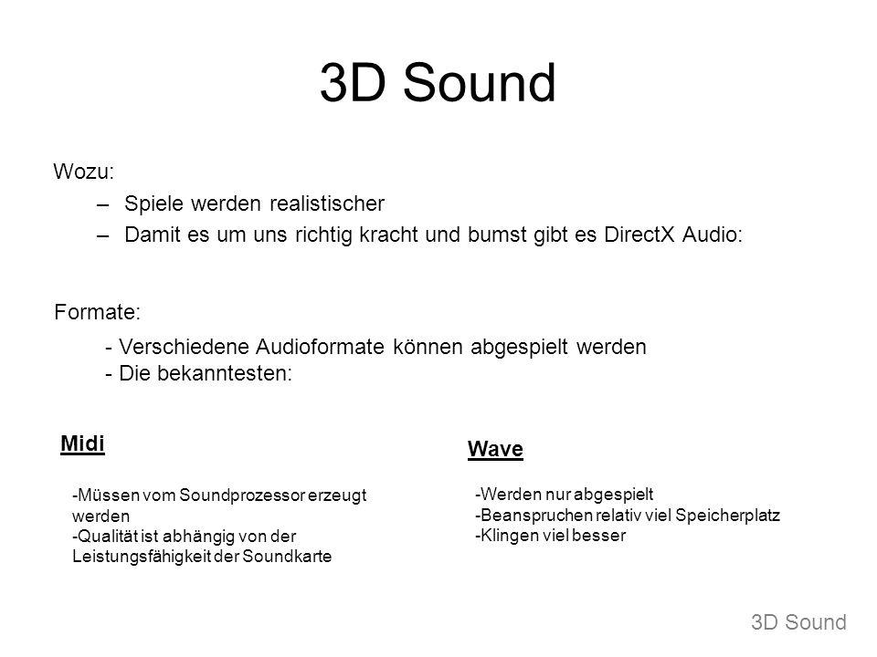 3D Sound Wozu: Spiele werden realistischer