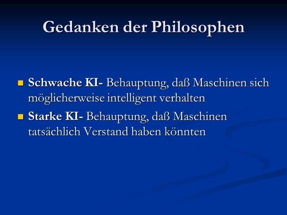 Gedanken der Philosophen