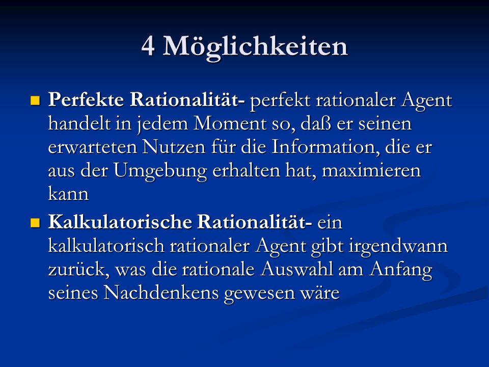 4 Möglichkeiten