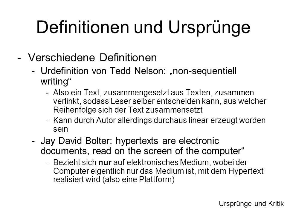 Definitionen und Ursprünge