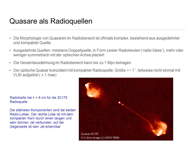 Quasare als Radioquellen