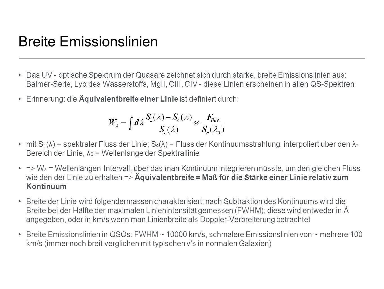 Breite Emissionslinien