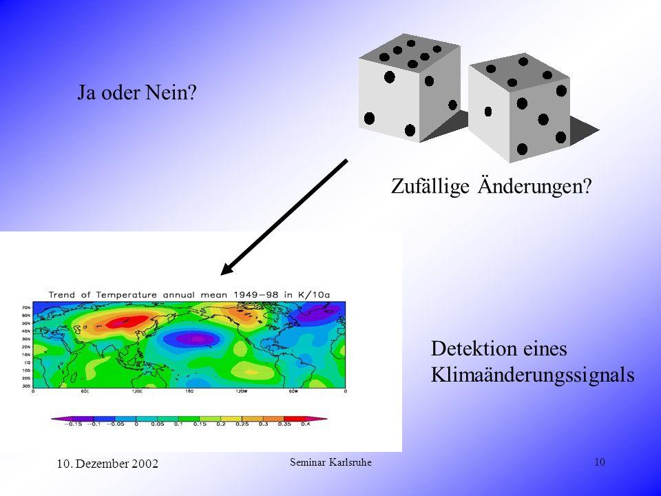 Klimaänderungssignals
