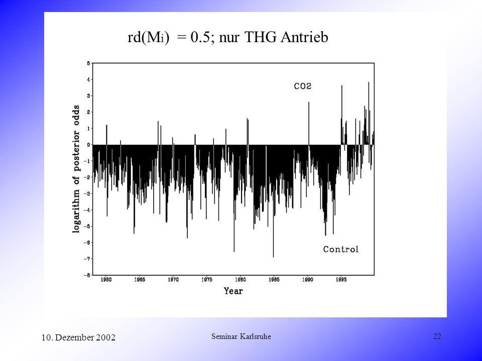 rd(Mi) = 0.5; nur THG Antrieb