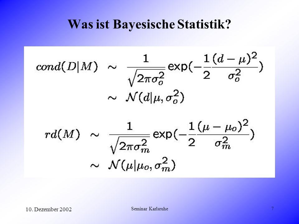 Was ist Bayesische Statistik