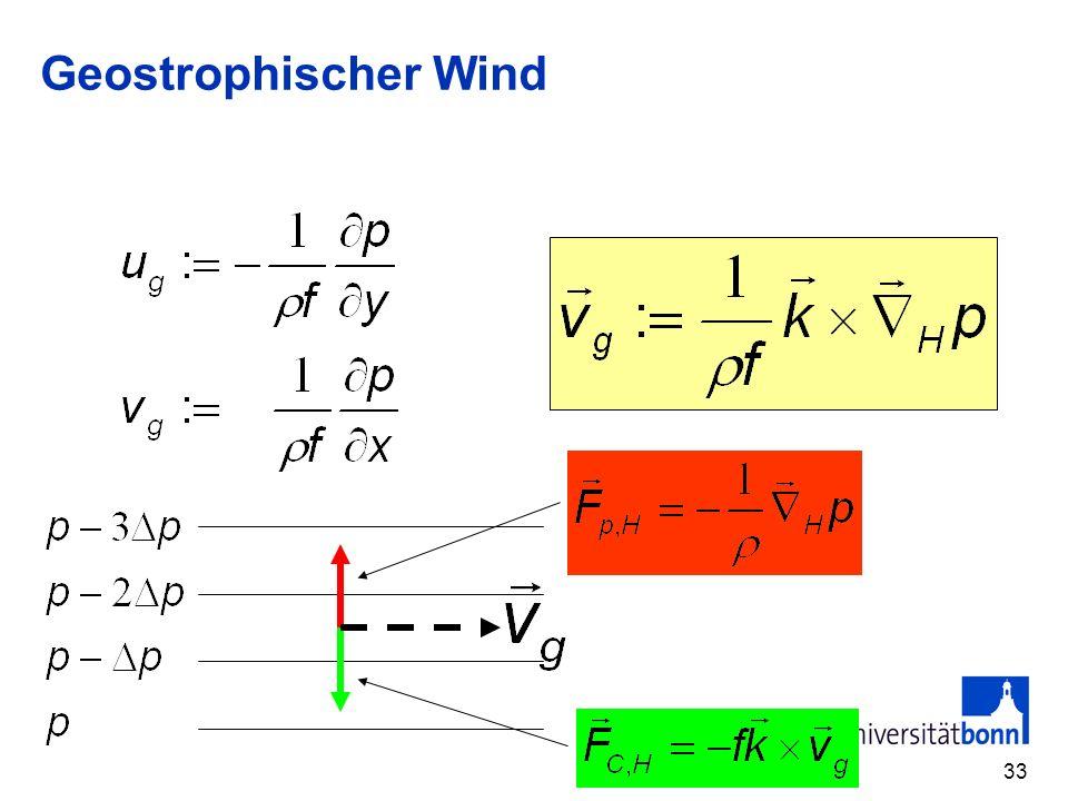 Geostrophischer Wind