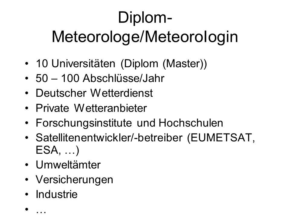 Diplom-Meteorologe/MeteoroIogin