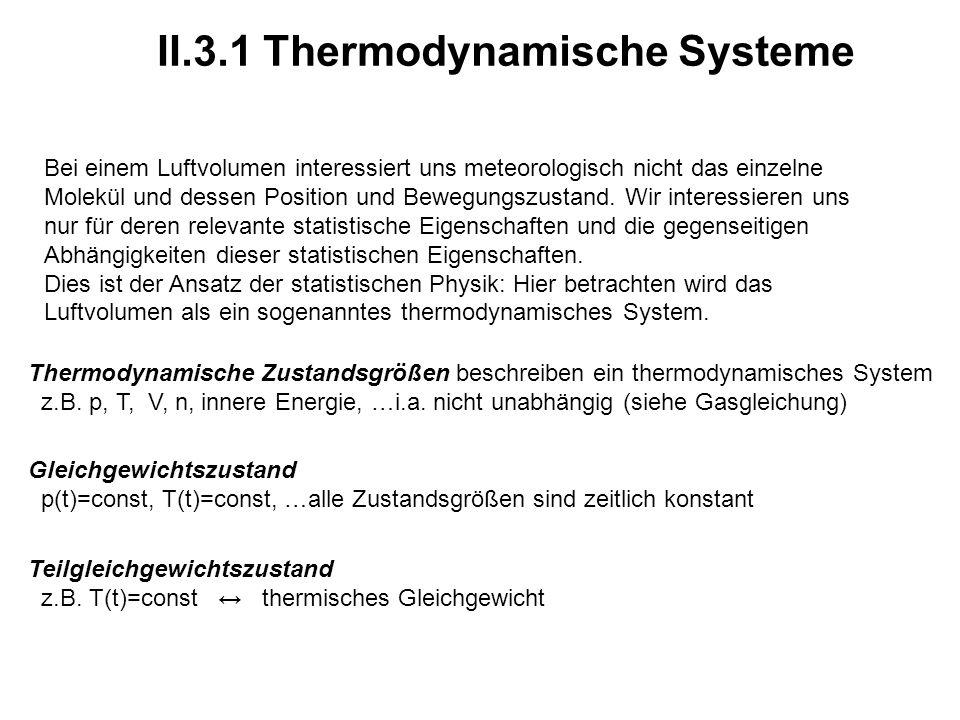 II.3.1 Thermodynamische Systeme