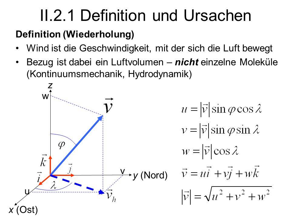 II.2.1 Definition und Ursachen