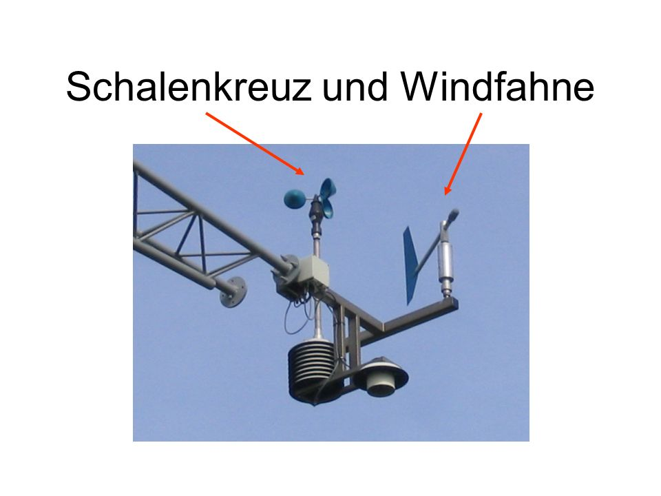 Schalenkreuz und Windfahne