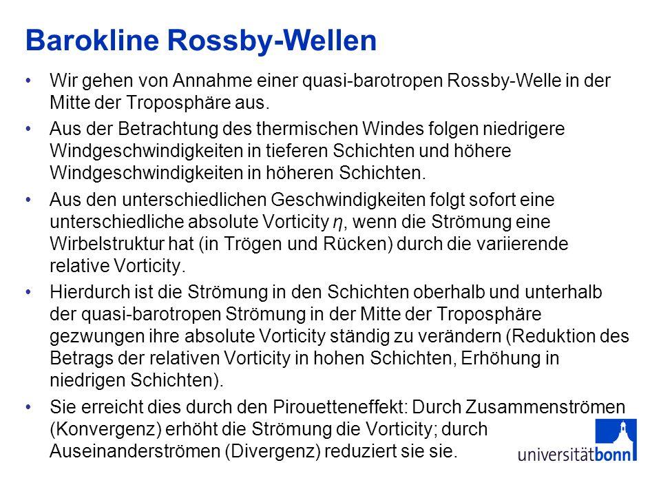 Barokline Rossby-Wellen