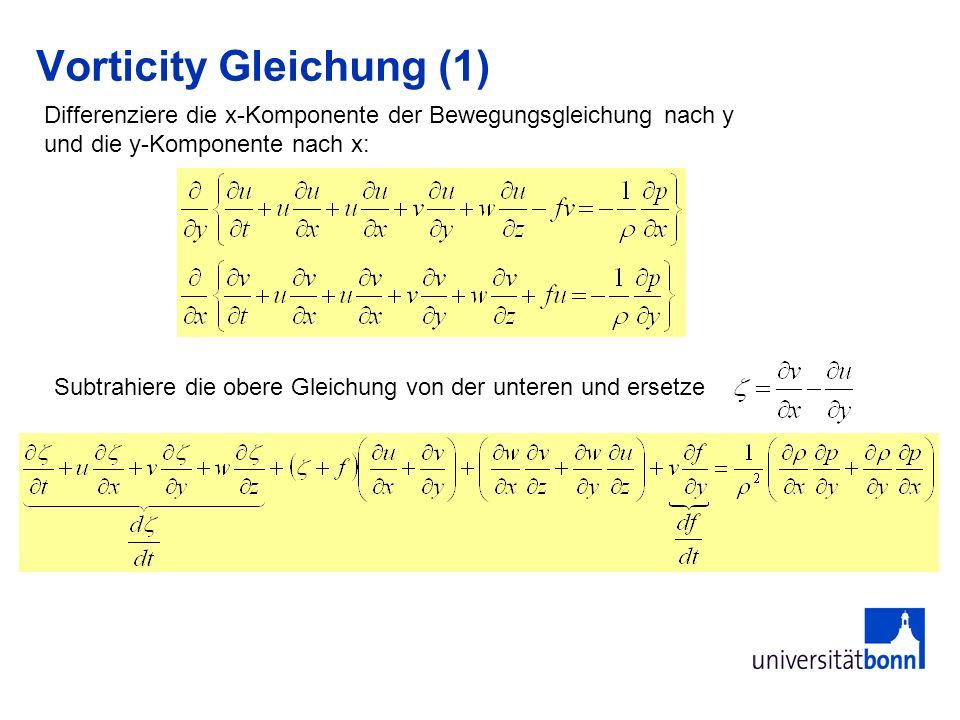 Vorticity Gleichung (1)