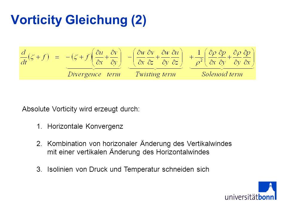 Vorticity Gleichung (2)