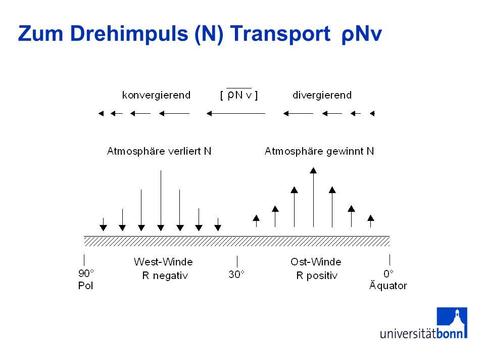 Zum Drehimpuls (N) Transport ρNv